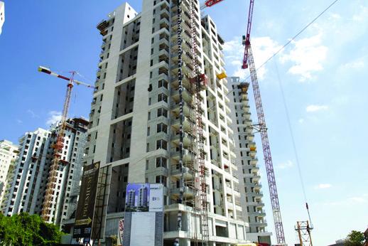 התחלות בנייה בעיר