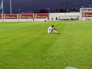 טרנס טיסדל מתקשה להתאושש, הערב בסיום המשחק בלוד
