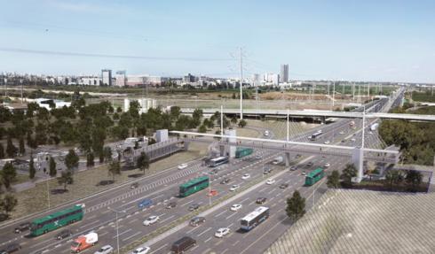 הדמיית הגשר החדש