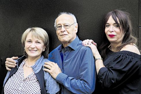 אפרת טילמה, שמואל ענב ושרה סווירי. צילום: ריאן