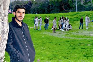 דיאב אל גלבאן. צילום: רפי קוץ