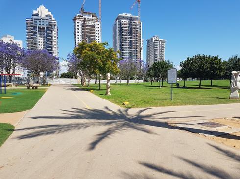 המסלול בפארק הגדול. צילום: אייל עצמון