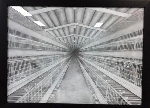 יצירה של יובל נקר. צילום: דוברות עיריית פתח תקוה