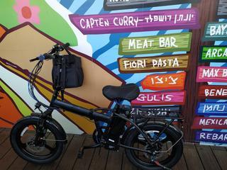 """אופניים חשמליים. יח""""צ"""