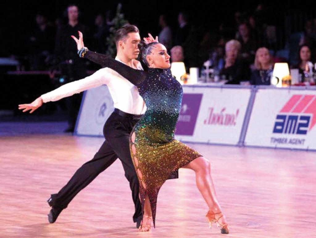סטפני צוקרמן עם בן זוגה תומר זבניאצקי. צילום: באדיבות התאחדות אילת