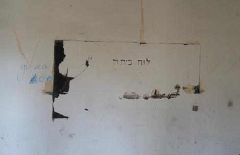 """לוח הקיר   צילום: דוברות עיריית פ""""ת"""