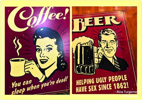 רומא. בירה, קפה ומצברוח   צילום: עמוד הפייסבוק של רינה תורג'מן