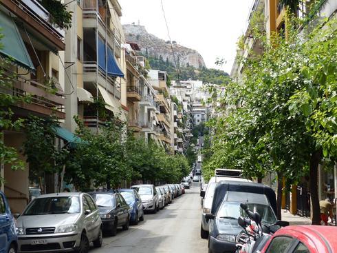 השכונות המודרניות של אתונה. אילוסטרציה. צילום: shutterstock